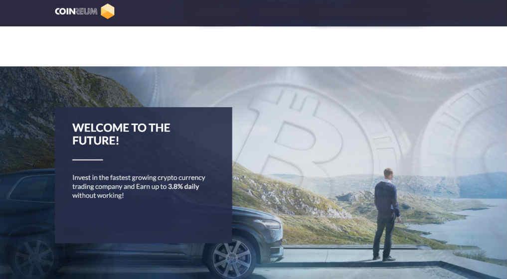 CoinReum.com scam. Review CoinReum. What is CoinReum.com?