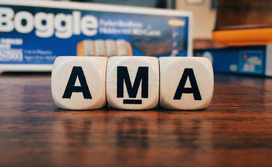 Define AMA. Meaning AMA. Definition AMA.