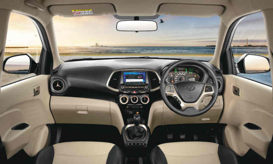 Interior of the New Santro 2018