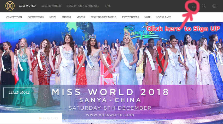 Miss World official website