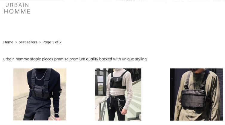 UrbainHomme complaints. UrbainHomme fake or real? UrbainHomme legit or fraud?