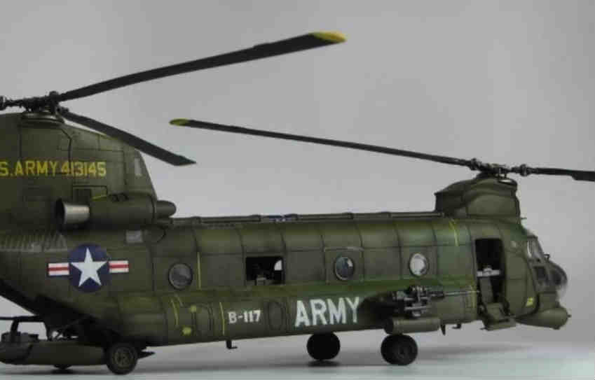 Boeing CH-47 Chinook RC Helicopter scam