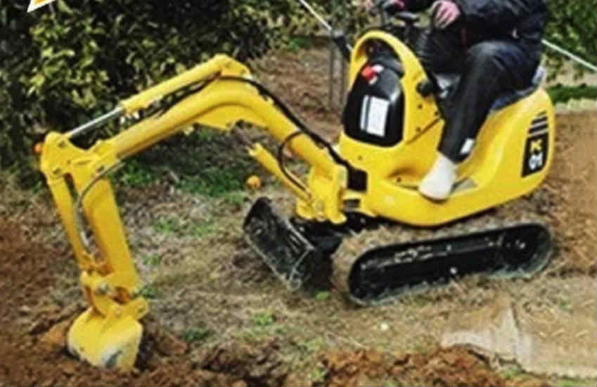 Beware of Household Mini Excavator Komatsu PC-01 scam