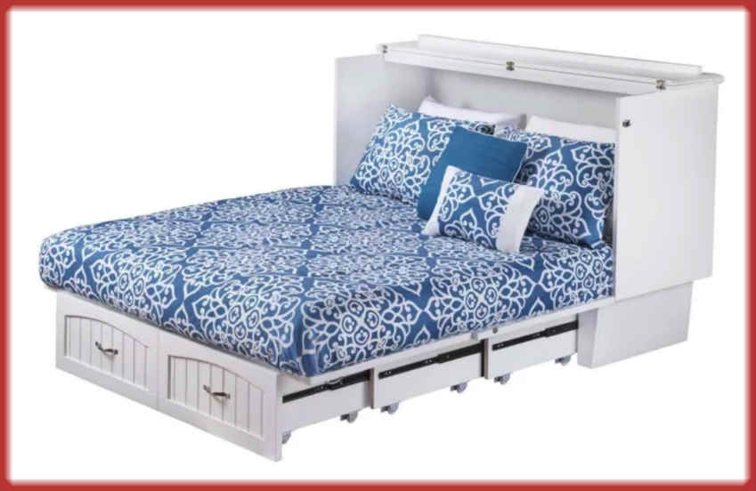 New Simple Fashion Storage Bed scam