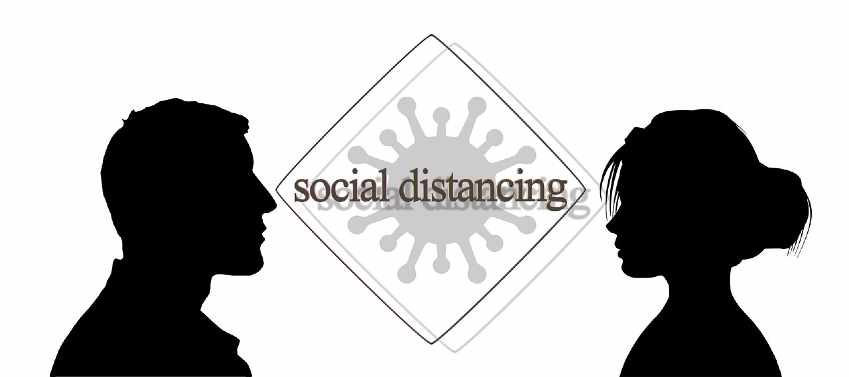 Follow Social Distancing, not any idea of Injecting Disinfectant.